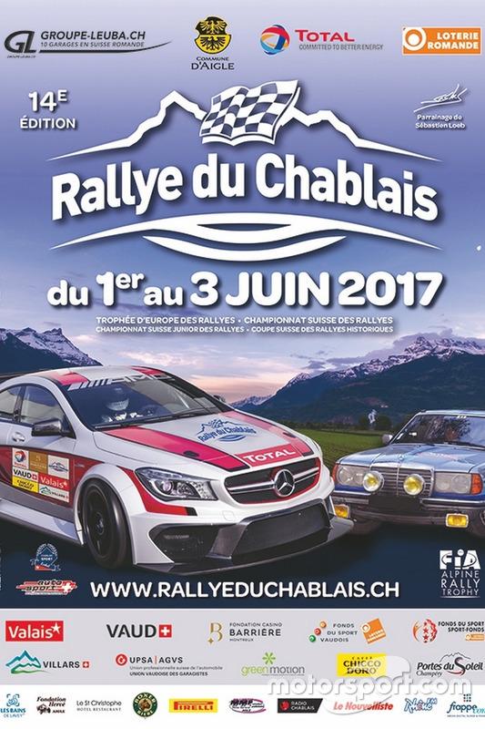 Rallye du Chablais, affiche 2017