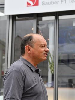 Frederic Vasseur, Sauber Team Principle