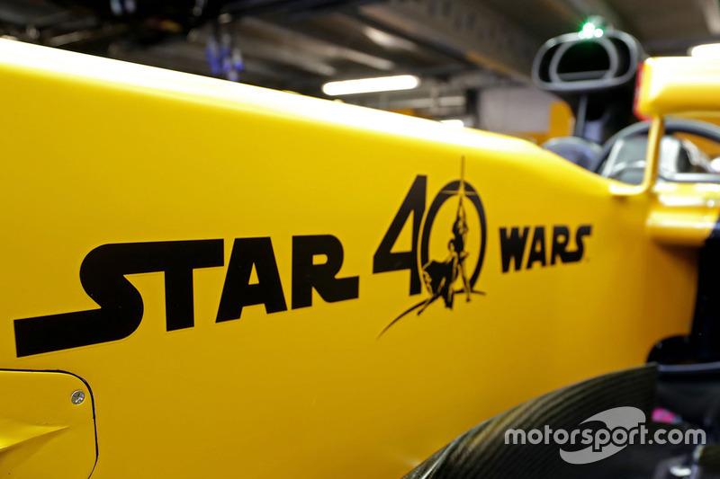 Лого Зоряних війн на Renault Sport F1 Team RS17