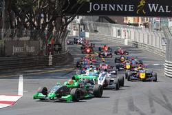 Départ de la Course 2 à Monaco