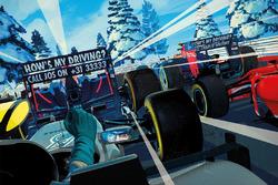 La carte de vœux de Red Bull Racing