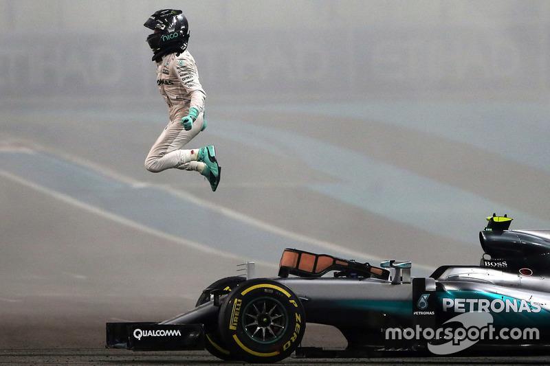 5. El campeón del mundo de F1, Nico Rosberg, Mercedes AMG F1 W07 Hybrid