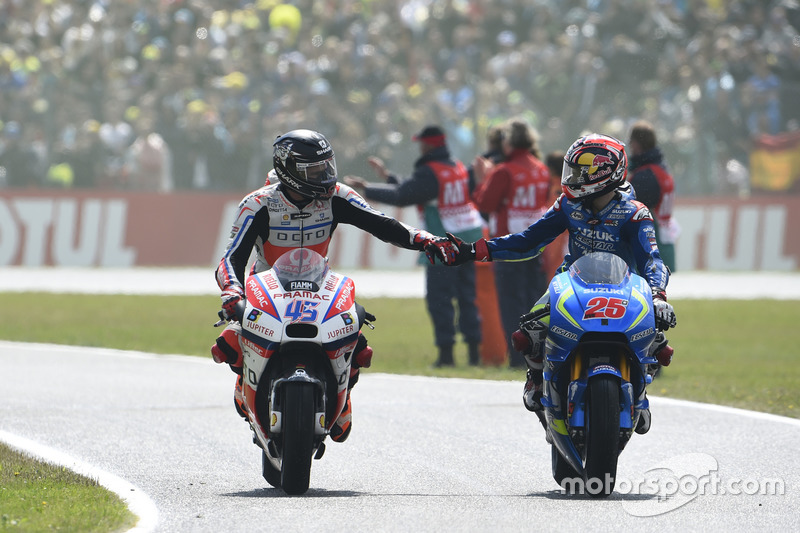 Scott Redding, Pramac Racing ve Maverick Viñales, Team Suzuki MotoGP