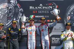 Winner main race Laurens Vanthoor, Frederic Vervisch, Audi R8 LMS, Belgian Audi Club Team WRT2