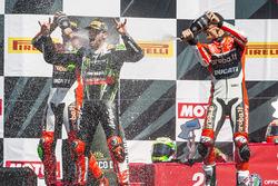 Подіум: переможець Том Сайкс, Kawasaki Racing