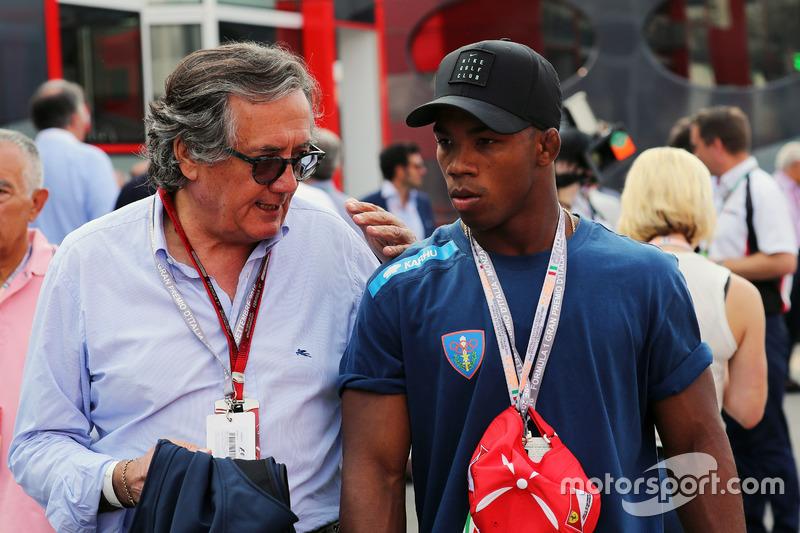 Giancarlo Minardi, ve Frank Chamizo Marquez, güreş bronz madalya sahibi Rio 2016