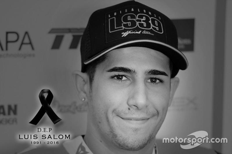 Moto2 – загибель Луіса Салома