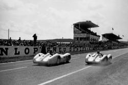 Karl Kling and Juan Manuel Fangio, Mercedes-Benz W 196 R