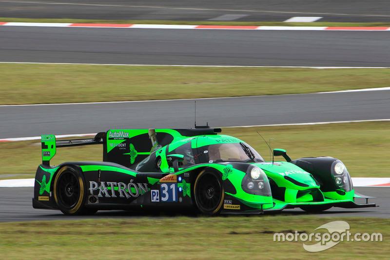 5. LMP2: #31 Ligier JS P2 - Nissan: Ryan Dalziel, Pipo Derani, Christopher Cumming