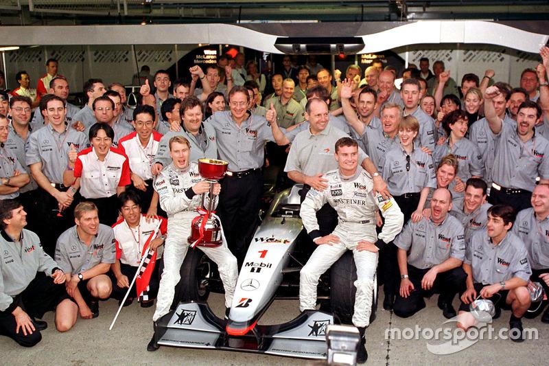 McLaren feiert nicht nur den Fahrer- sondern auch den Konstrukteurstitel