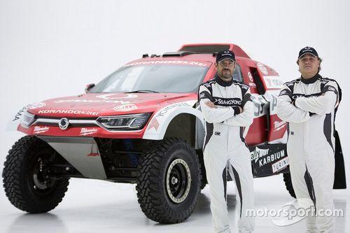 SsangYong Korando DKR Dakar 2020