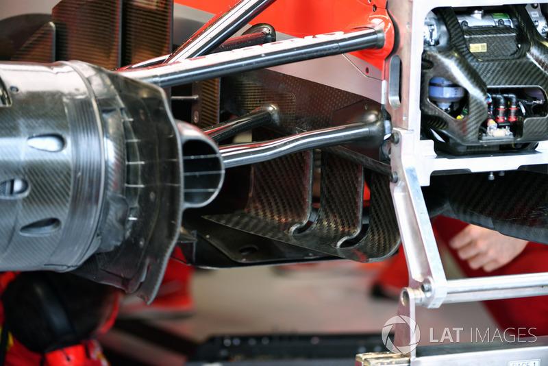 Ferrari SF71H, aerorészlet