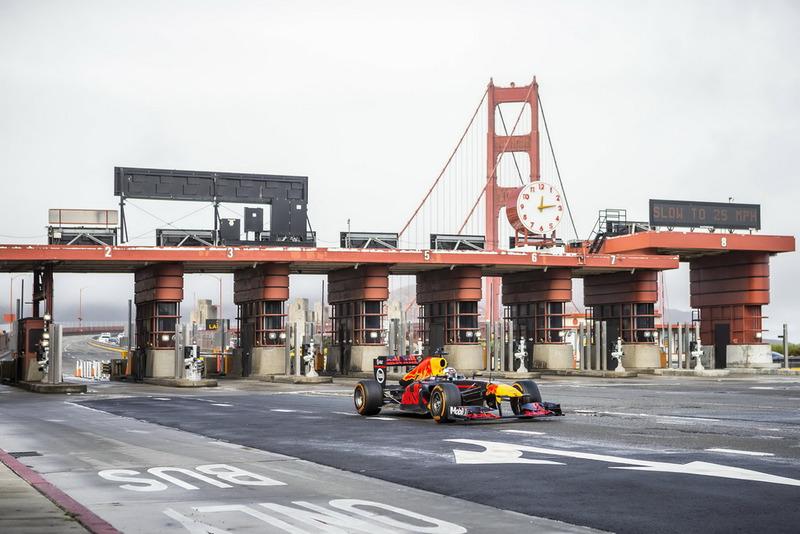 Daniel Ricciardo, Red Bull Racing en San Francisco