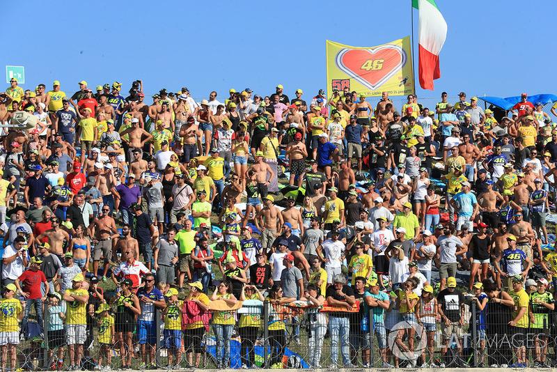 Penonton di Misano