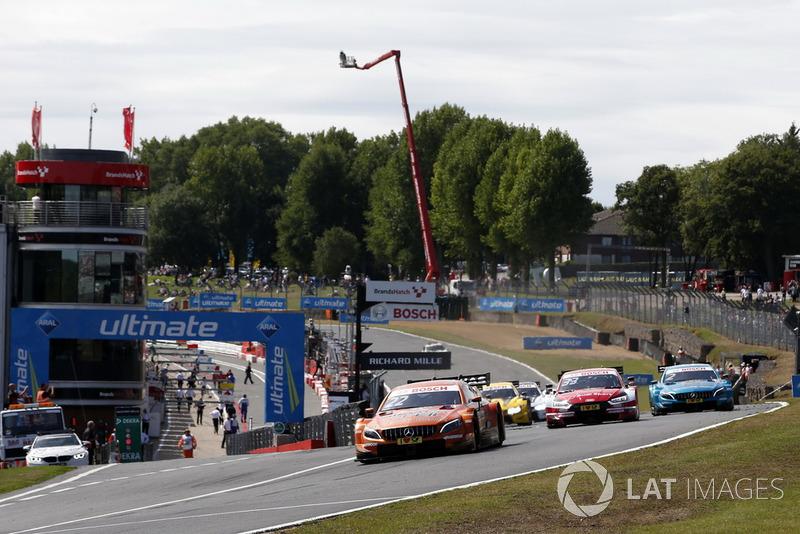 Шостий етап DTM відбувся на Брендс-Хетчі, який повернувся в календар серії