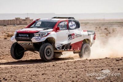 Toyota Erfoud tesztelés