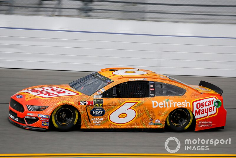 19. Ryan Newman, Roush Fenway Racing, Ford Mustang