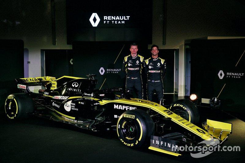 Даніель Ріккардо, Ніко Хюлькенберг, Renault Sport F1 Team