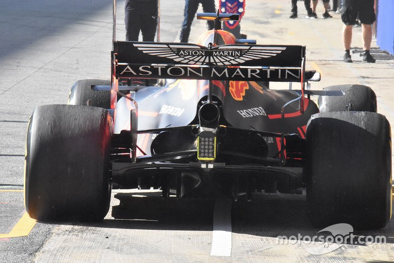 Red Bull Racing RB15 technical detail