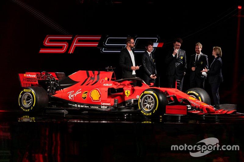 フェラーリ新車発表会
