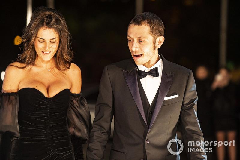 Valentino Rossi, Yamaha Factory Racing y su novia