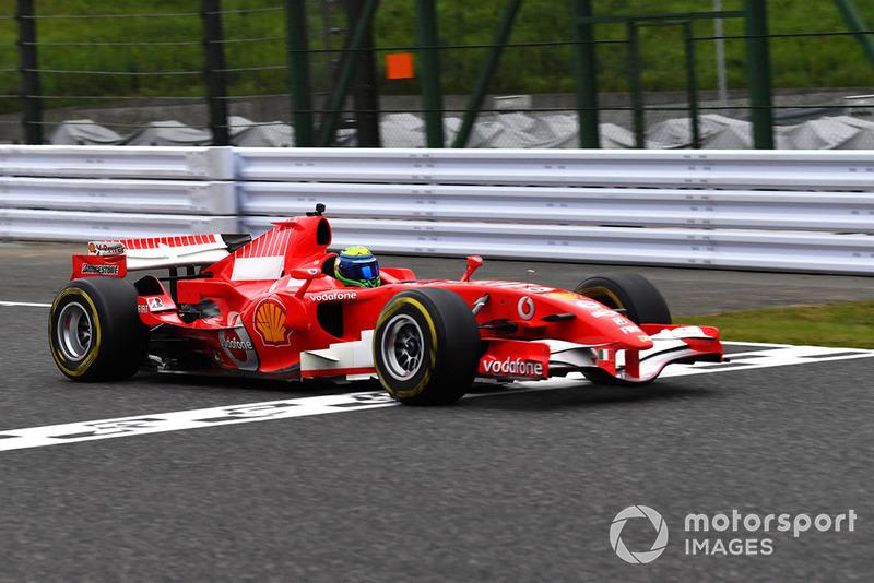 Felipe Massa, Ferrari at Legends F1 30th Anniversary Lap Demonstration