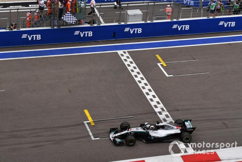 Russie - Vainqueur : Lewis Hamilton