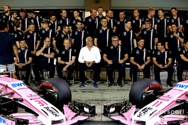 Власник Racing Point Force India F1 Лоуренс Стролл, керівник Racing Point Force India Отмар Сафнауер