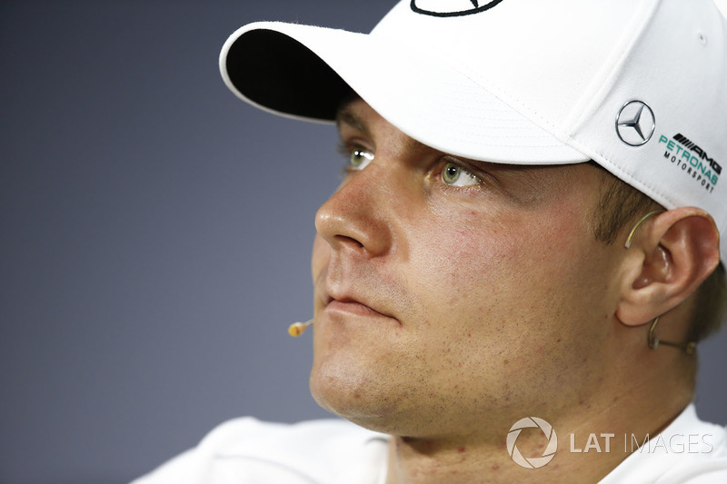 Valtteri Bottas, Mercedes AMG F1, in the press conference