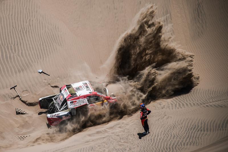 2. #301 Toyota Gazoo Racing Toyota: Нассер Аль-Аттія, Маттьйо Бомель