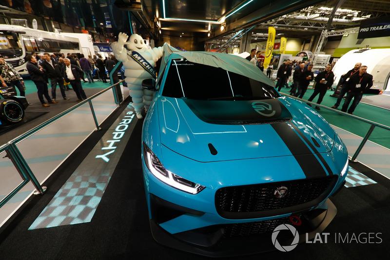 The Jaguar I-Pace eTrophy is launched, A Michelin man unveils the car