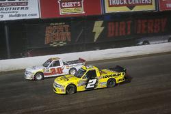 Tanner Thorson, Young's Motorsports, Chevrolet Silverado and Cody Coughlin, GMS Racing, Chevrolet Silverado Jeg's.com