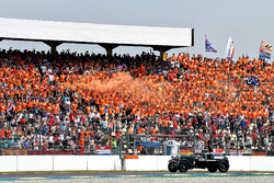 Daniel Ricciardo, Red Bull Racing, nella drivers parade