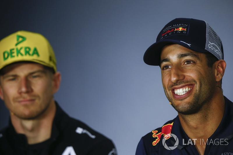 Ніко Хюлькенберг, Renault Sport F1 Team, Даніель Ріккардо, Red Bull Racing