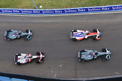 Nelson Piquet Jr., Jaguar Racing, Felix Rosenqvist, Mahindra Racing, Edoardo Mortara, Venturi Formula E Team, Mitch Evans, Jaguar Racing