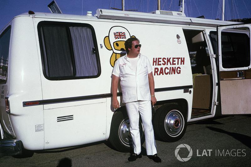 Самая раздолбайская: Hesketh и гараж владельца команды (1974)