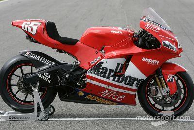 Ducati Desmosedici GP5 lansmanı