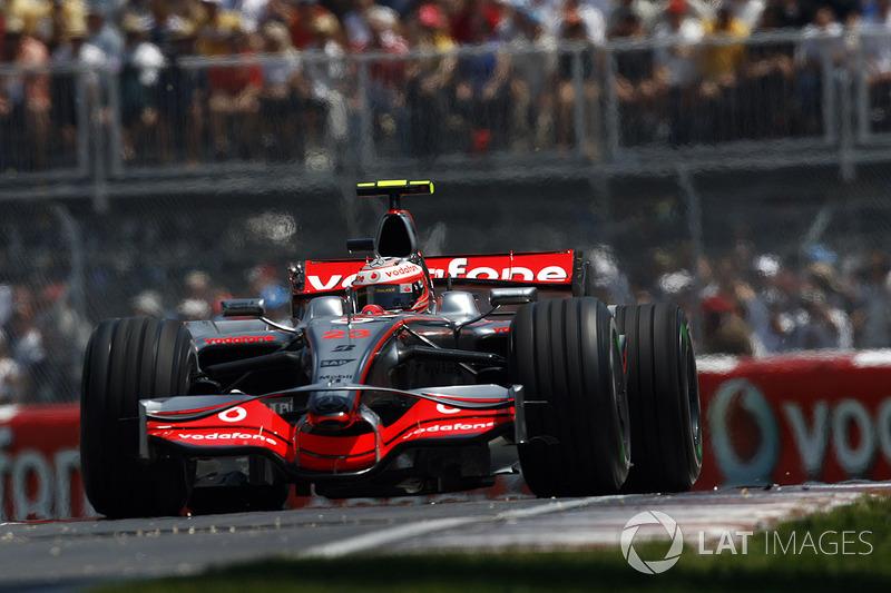 64º: McLaren MP4-23 (2008)