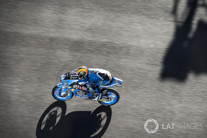 El nuevo asfalto de Jerez en el pasado GP de España