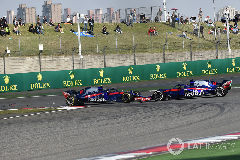 DNF Brendon Hartley, Scuderia Toro Rosso STR13