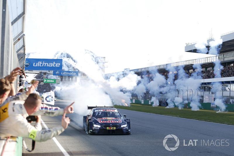 El ganador Marco Wittmann, BMW Team RMG, BMW M4 DTM