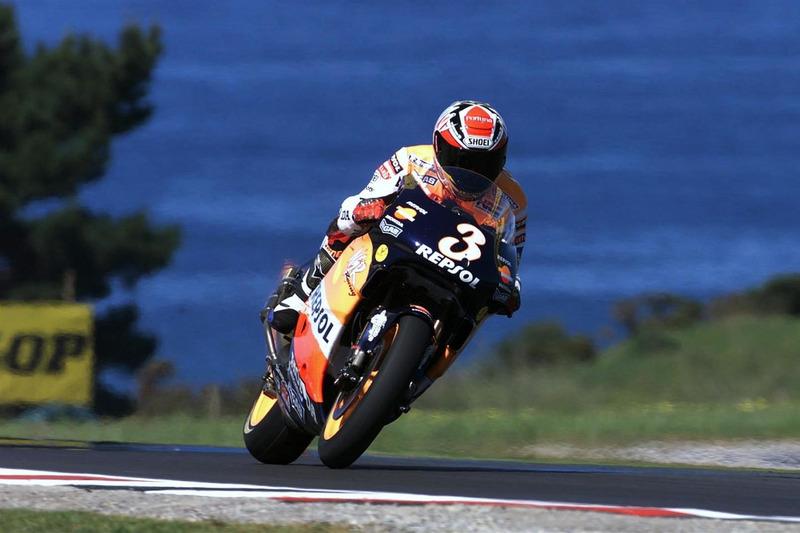 1999 - Alex Criville, Repsol Honda Team