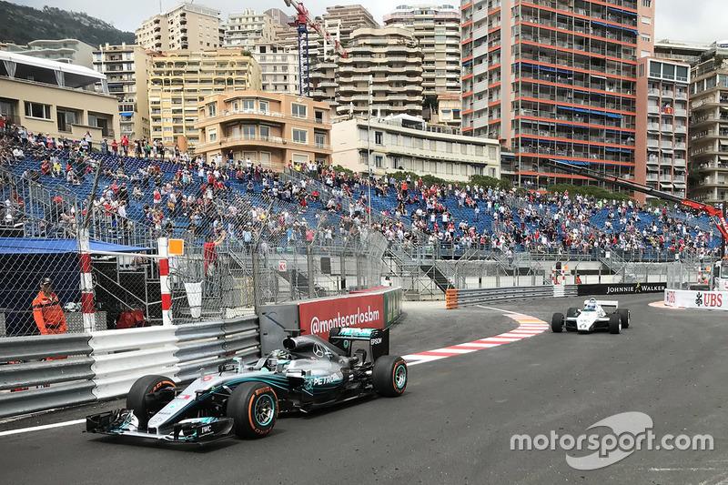 Nico Rosberg, Mercedes AMG F1, Keke Rosberg, Williams FW08