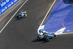 Mitch Evans, Jaguar Racing. Nelson Piquet Jr., Jaguar Racing