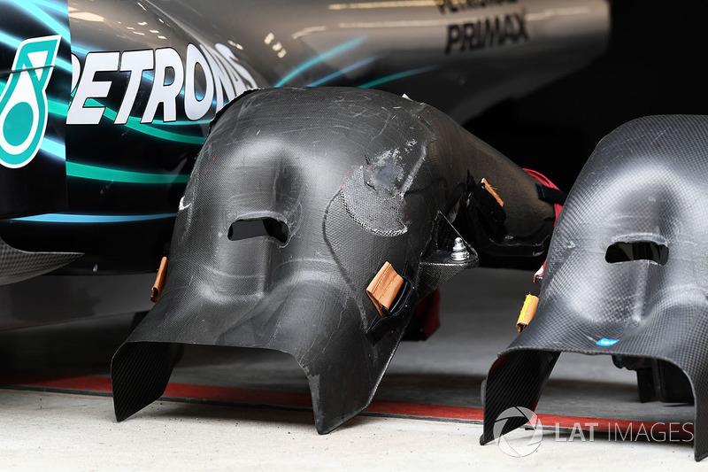 Mercedes-AMG F1 W09 EQ Power+ : baquets