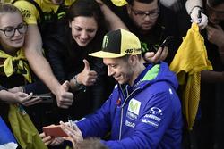 Valentino Rossi, Yamaha Factory Racing con i fan