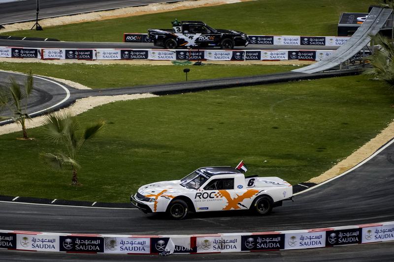 Халед Аль-Кубайсі за кермом Xtreme Pickup