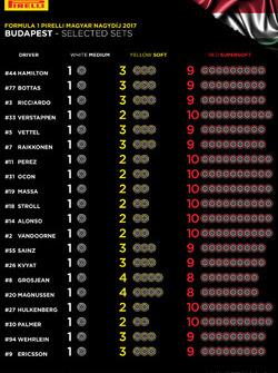 Выбор шин на Гран При Венгрии