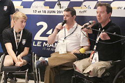 Billy Monger y Frédéric Sausset