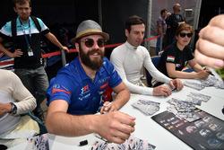 Sessione autografi, Stefano Comini, Comtoyou Racing, Audi RS3 LMS
